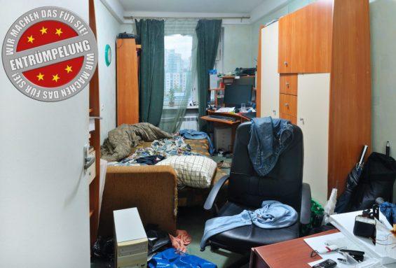 Entrümpelung einer Wohnung